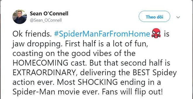 Các bình luận đầu tiên về bom tấn FAR FROM HOME: Xuất sắc hơn cả Spider-Man 2 năm xưa! - Hình 6