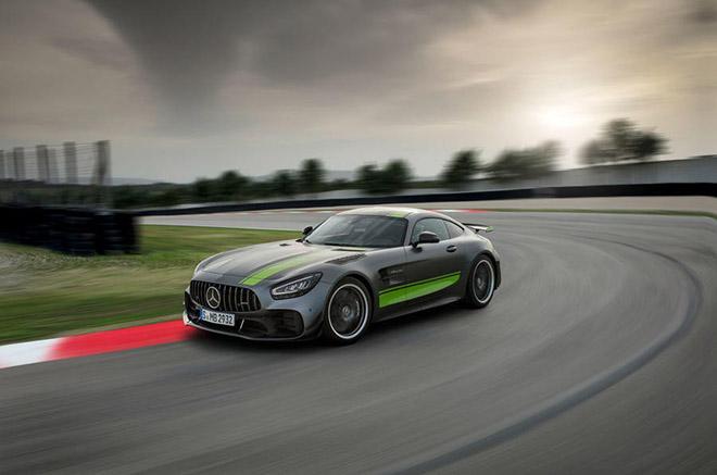 Mercedes-AMG GT Black Series: Mẫu xe nhanh nhất, mạnh nhất của Mercedes sắp trình làng - Hình 1