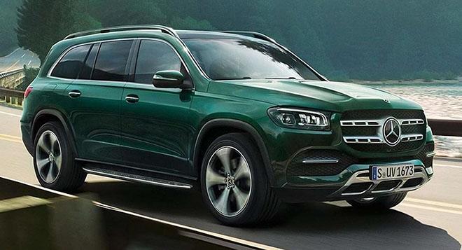 Mercedes-Benz nhá hàng thiết kế GLS thế hệ mới - Hình 1