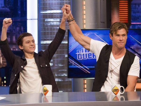 Tình bạn đẹp trong MCU: Chris Hemsworth từng giúp Tom Holland có được vai Spider-Man - Hình 1