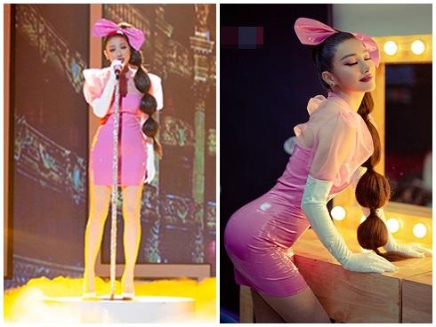 Top sao mặc xấu tuần qua: Hồ Ngọc Hà lọt top sao xấu, Jun Vũ như đang bơi trong thiết kế - Hình 5