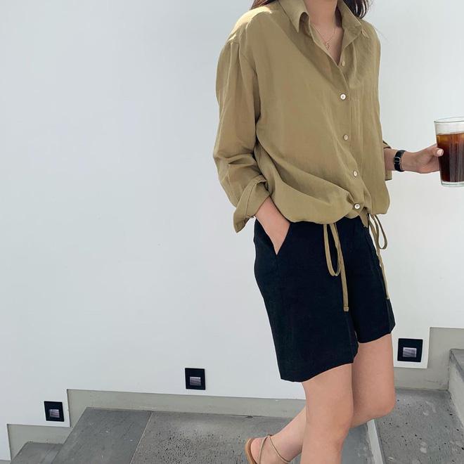 Nếu mặc gì cũng muốn lịm đi vì nóng, 3 cách lên đồ với vải thô mát rượi từ đầu đến chân này chính là dành cho bạn - Hình 8