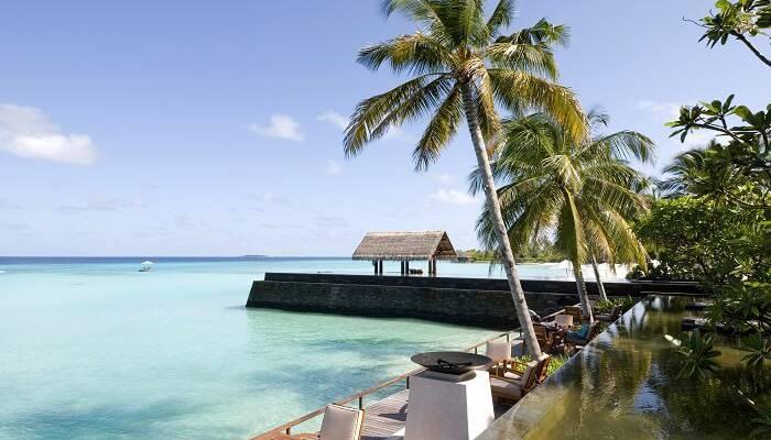 Những bãi biển tuyệt đẹp ở Maldives - Hình 3