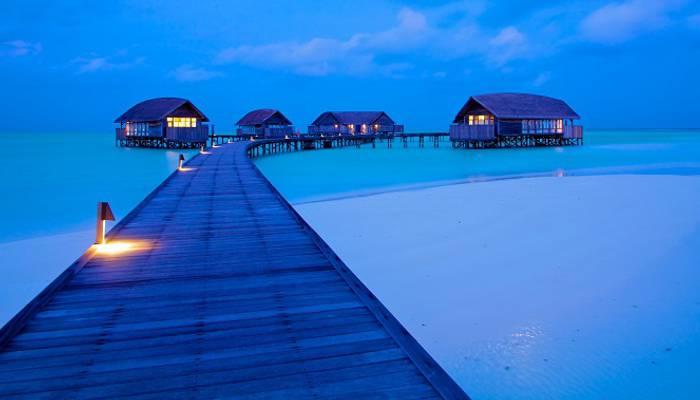 Những bãi biển tuyệt đẹp ở Maldives - Hình 4