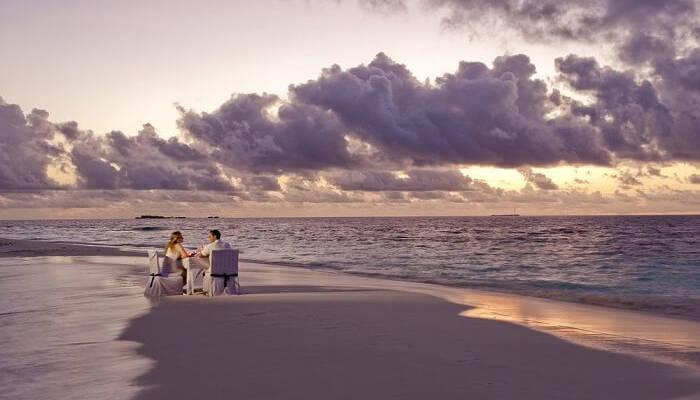 Những bãi biển tuyệt đẹp ở Maldives - Hình 5