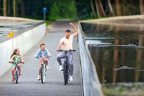 [Ảnh] Loạt kiến trúc ưu ái xe đạp đầy ấn tượng của thế giới - Hình 4