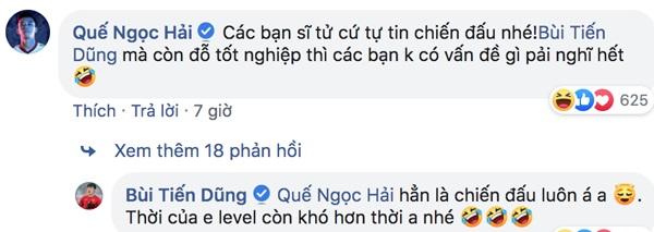 Các cầu thủ Việt đồng loạt gửi lời chúc tới các sĩ tử trước kỳ thi THPT Quốc gia 2019 - Hình 3