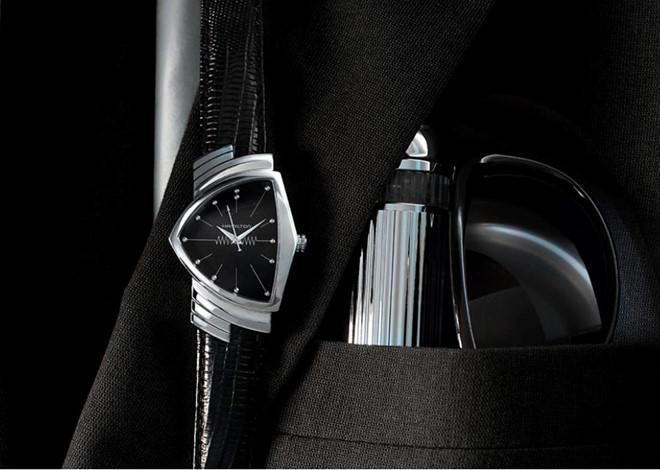 Đồng hồ Hamilton Ventura - bạn đồng hành của các anh hùng đặc vụ - Hình 2