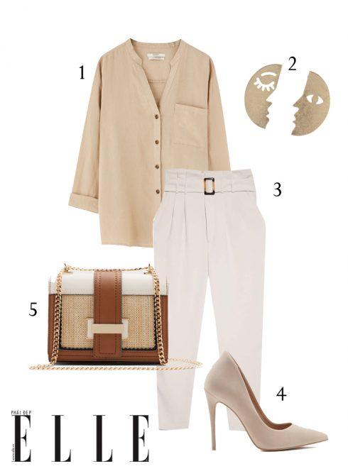 Gợi ý cách phối trang phục linen giải nhiệt mùa Hè - Hình 4