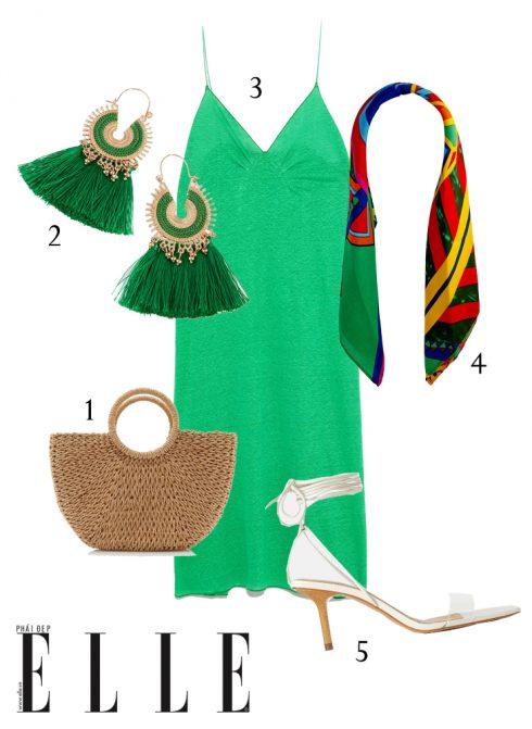 Gợi ý cách phối trang phục linen giải nhiệt mùa Hè - Hình 5