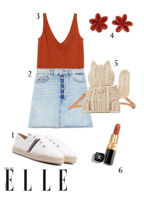 Gợi ý cách phối trang phục linen giải nhiệt mùa Hè - Hình 8
