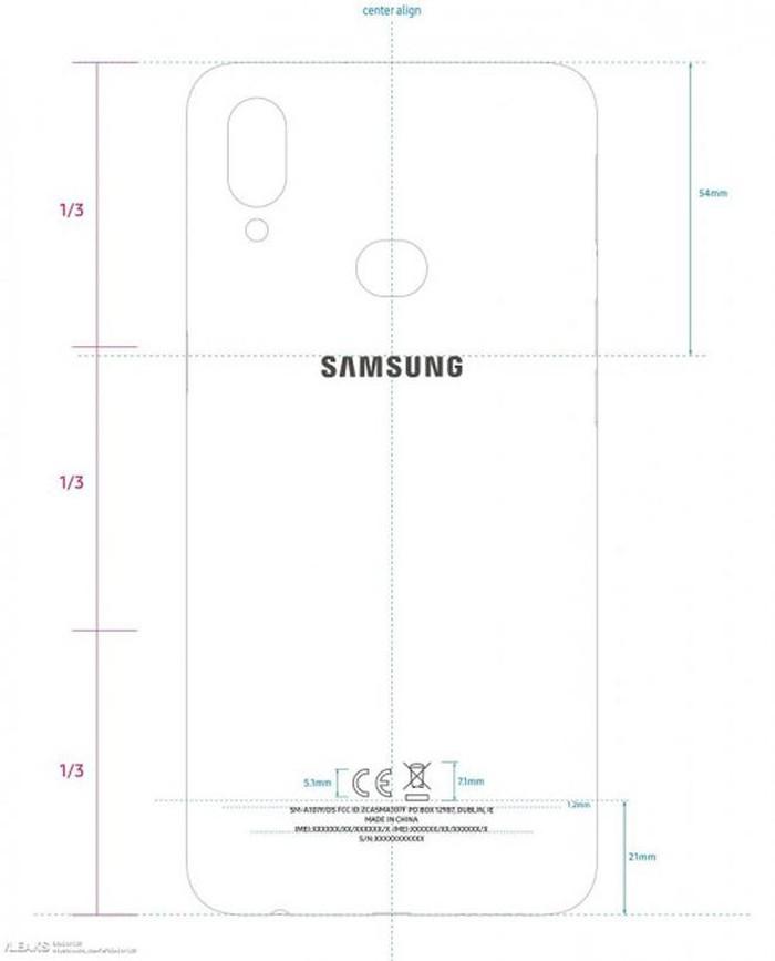 Galaxy A10s - chiếc smartphone giá rẻ nhất dòng A đã lộ diện - Hình 2