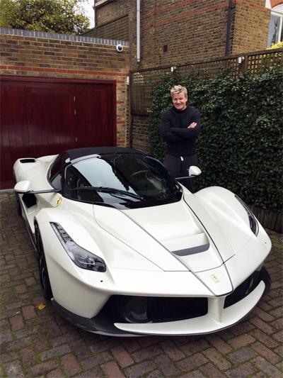 Giám khảo MasterChef Mỹ tậu siêu xe Ferrari triệu đô - Hình 1