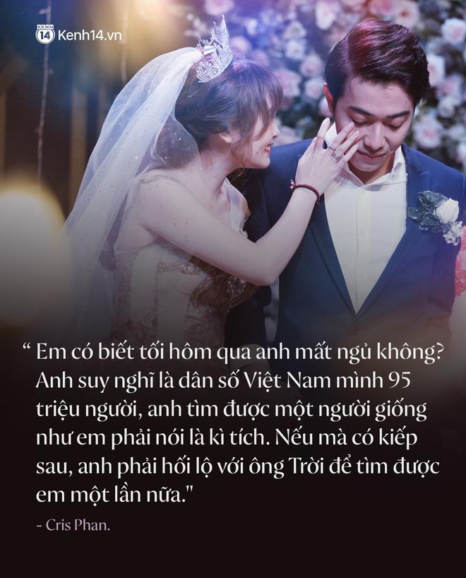 Không phải xúc động vì lấy được vợ, Cris Phan mít ướt trong đám cưới vì...tìm được tủ đầm hợp size, tôn dáng? - Hình 2