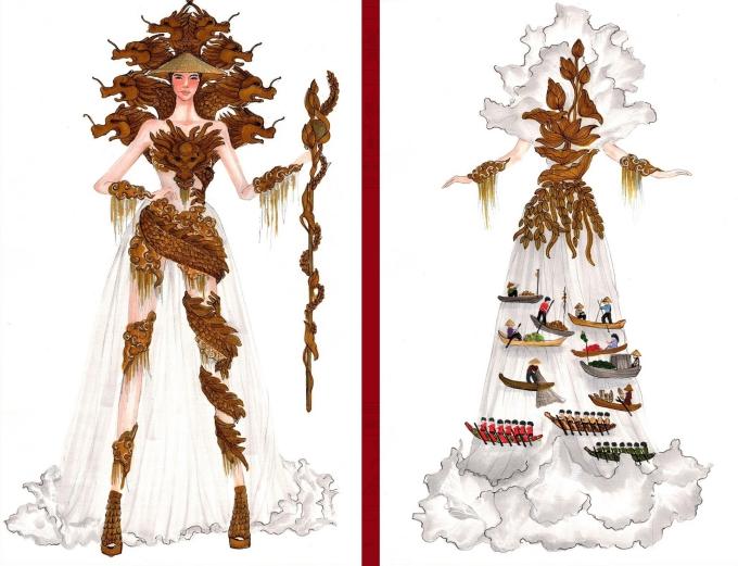 Bàn thờ lọt top trang phục dân tộc được yêu thích nhất - Hình 7