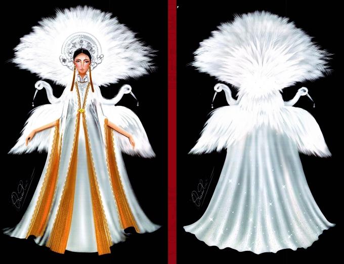 Bàn thờ lọt top trang phục dân tộc được yêu thích nhất - Hình 9