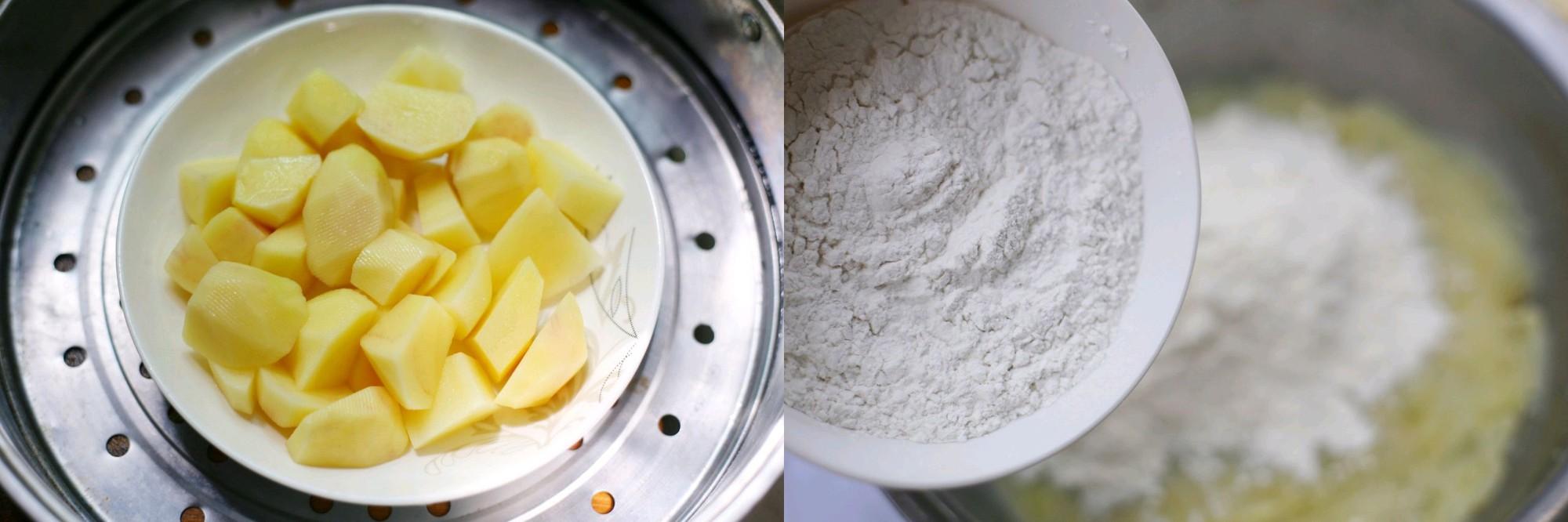 Bánh khoai tây nóng hổi cho bé yêu ngon miệng, tăng cân - Hình 1