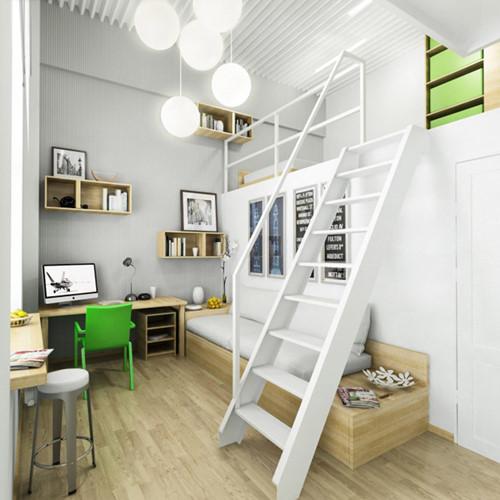 Căn hộ 20m2 cho vợ chồng trẻ: Set up nội thất thế nào vừa rẻ vừa tiện? - Hình 5