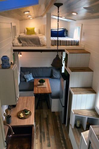 Căn hộ 20m2 cho vợ chồng trẻ: Set up nội thất thế nào vừa rẻ vừa tiện? - Hình 9