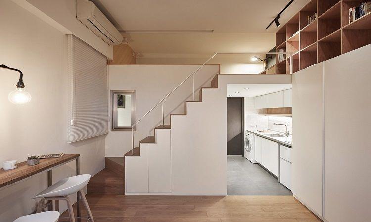 Căn hộ 20m2 cho vợ chồng trẻ: Set up nội thất thế nào vừa rẻ vừa tiện? - Hình 2