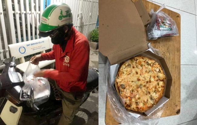 Chú xe ôm buồn bã khi bị thượng đế bom chiếc pizza gần 200k giữa đêm: Pizza thì chú cũng không biết ăn, chắc bỏ thôi... - Hình 1