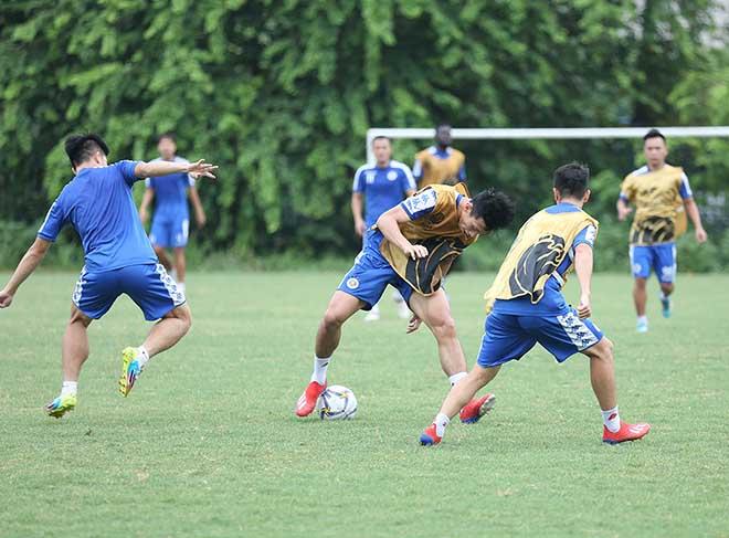Hà Nội FC đấu AFC Cup: Văn Hậu dồn sức giải châu Á trước tin đồn sang Áo thi đấu - Hình 2