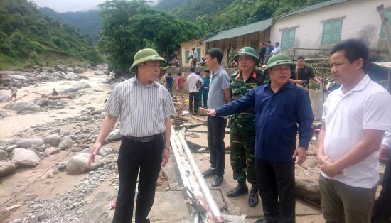 Lai Châu: Tập trung khắc phục mưa lũ và tìm kiếm người mất tích - Hình 1