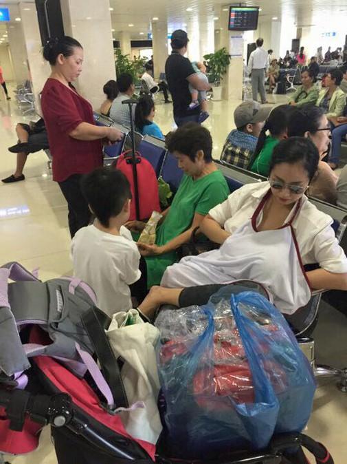 Lan Phương gây mê mẩn khi lộ ngực cho con bú nhưng bà mẹ sao Việt này mới xứng danh lầy lội - Hình 5