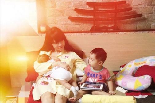 Lan Phương gây mê mẩn khi lộ ngực cho con bú nhưng bà mẹ sao Việt này mới xứng danh lầy lội - Hình 20