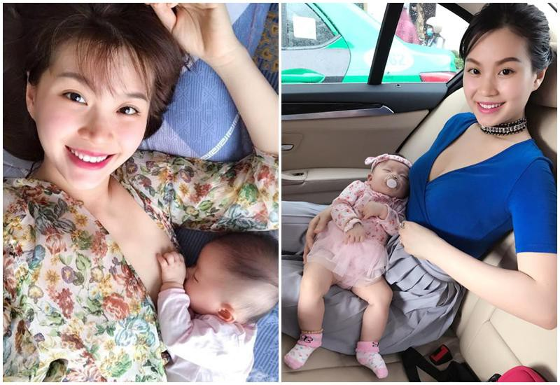 Lan Phương gây mê mẩn khi lộ ngực cho con bú nhưng bà mẹ sao Việt này mới xứng danh lầy lội - Hình 13