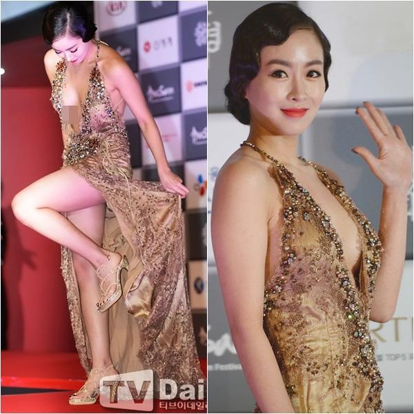 Loạt mỹ nữ Hàn Quốc bị chỉ trích vì không mặc đồ chíp, hớ hênh vòng một - Hình 8