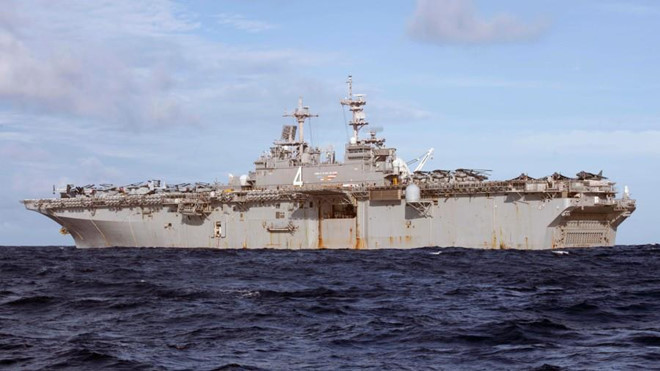 Lực lượng viễn chinh của Thủy quân lục chiến Mỹ áp sát bờ biển Iran - Hình 1