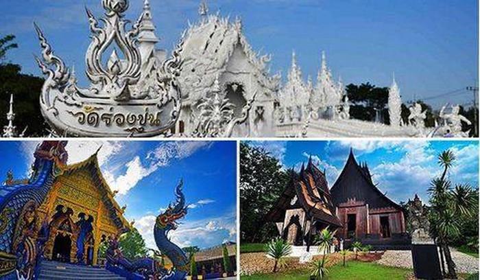 Những ngôi chùa đẹp như tác phẩm nghệ thuật ở Chiang Rai, Thái Lan - Hình 1