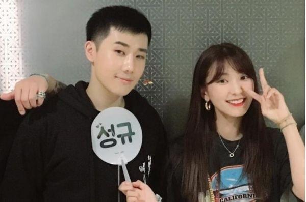 Những tình bạn khác giới đáng yêu trong ngành giải trí Hàn Quốc - Hình 8