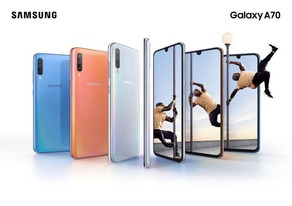 Samsung Galaxy A30 và Galaxy A70 nhận các bản cập nhật firmware mới - Hình 1