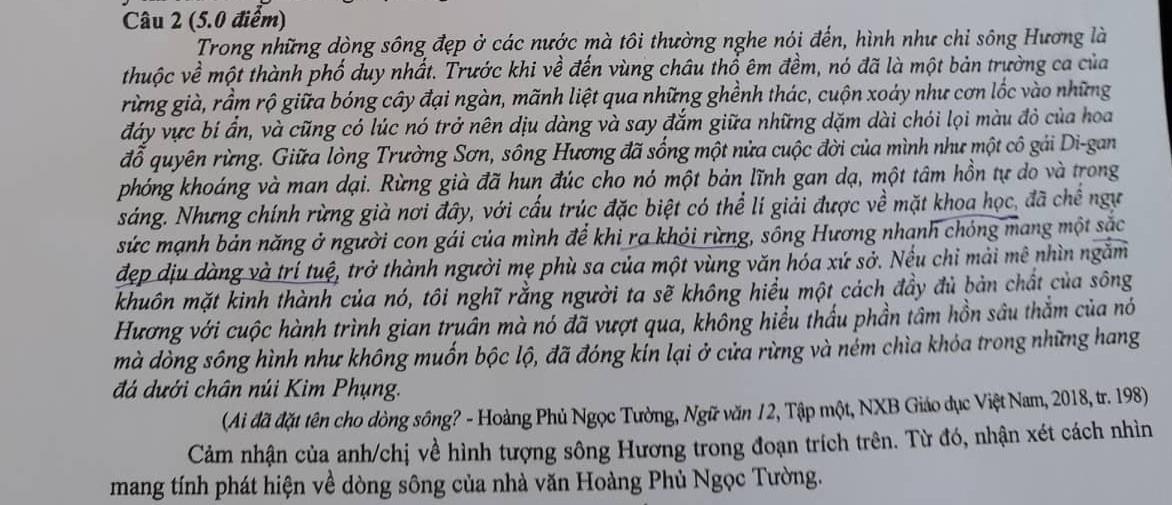 Thi xong môn Văn: cô Mị Hoàng Thùy Linh gợi ý không trúng phát nào, tiếc hùi hụi vì đã không nghe theo... Đen Vâu! - Hình 1
