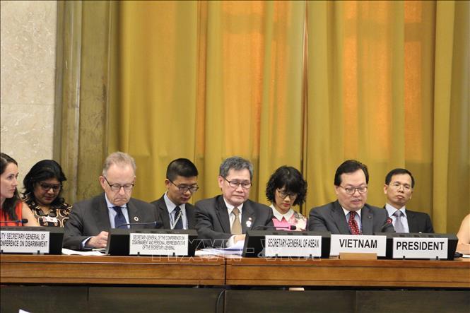 Việt Nam đảm nhiệm vai trò Chủ tịch Hội nghị Giải trừ quân bị - Hình 1