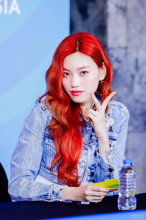 Anti fan cũng phải câm nín vì nhan sắc đỉnh cao của 9 idol hàn nhuộm tóc đỏ đẹp nhất lịch sử Kpop - Hình 6