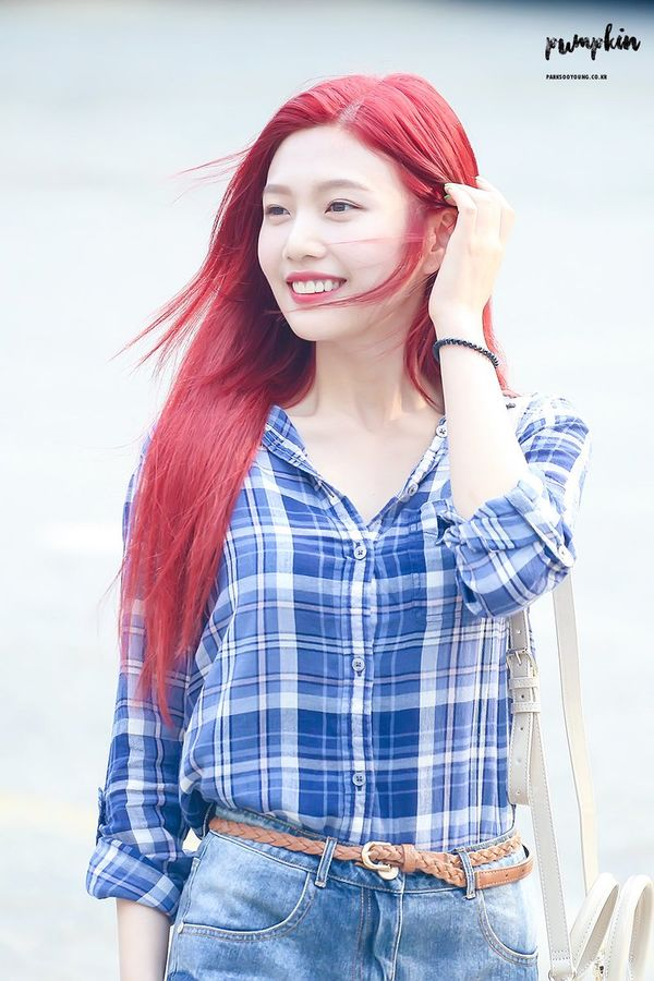 Anti fan cũng phải câm nín vì nhan sắc đỉnh cao của 9 idol hàn nhuộm tóc đỏ đẹp nhất lịch sử Kpop - Hình 14