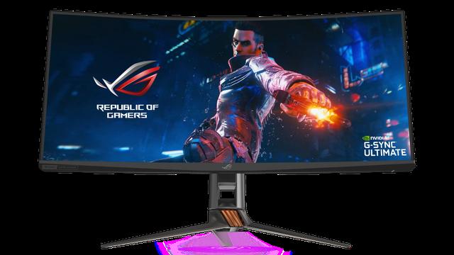 Asus giới thiệu màn hình gaming siêu to khổng lồ ROG Swift PG35VQ ai nhìn cũng phải mê mệt - Hình 1