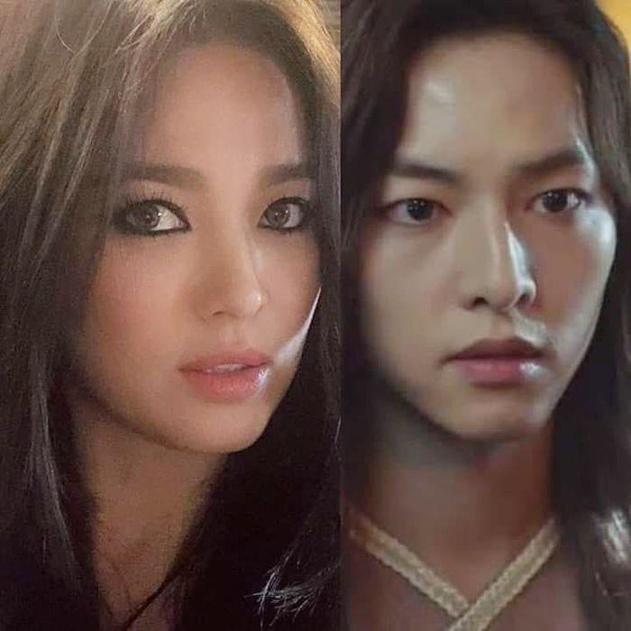 Đột nhiên ngoại hình khác lạ: bánh bèo Song Hye Kyo lấy cảm hứng từ phim mới của chồng - Hình 2