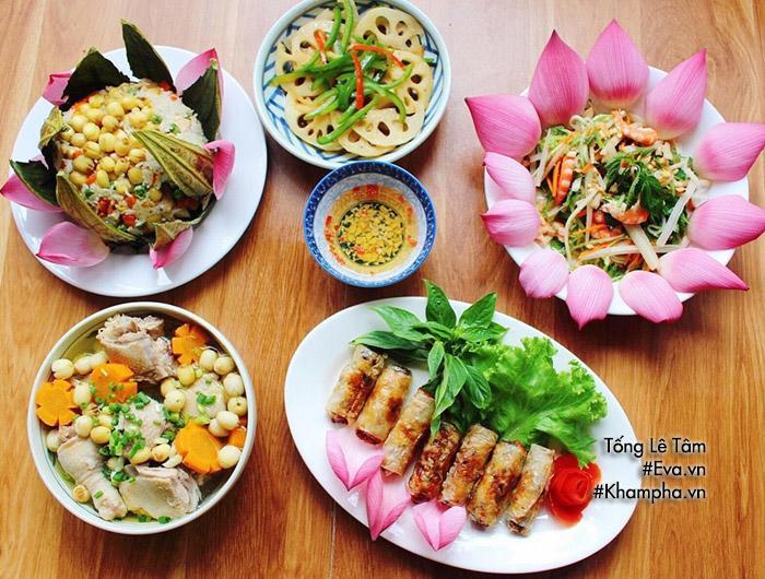 Gợi ý mâm cơm 5 món từ sen siêu ngon cho Ngày gia đình Việt Nam - Hình 1