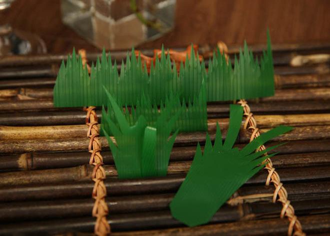 Hoá ra mấy ngọn cỏ xanh trông như nhựa trong hộp sushi mà chúng ta thường thấy không phải để làm màu - Hình 5