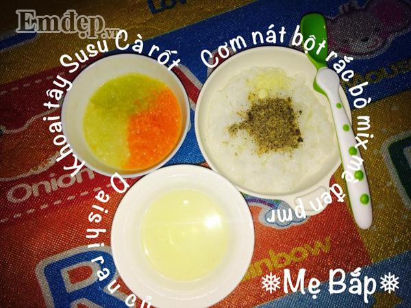 Học mẹ Bắc Giang kinh nghiệm nấu các món cháo thơm ngon, đầy đủ dinh dưỡng, con luôn hứng thú trong từng bữa ăn - Hình 6