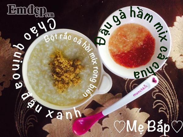 Học mẹ Bắc Giang kinh nghiệm nấu các món cháo thơm ngon, đầy đủ dinh dưỡng, con luôn hứng thú trong từng bữa ăn - Hình 15