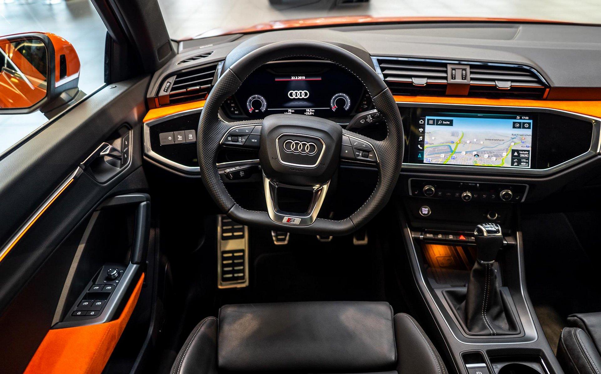 Ít ai ngờ chiếc Audi này được bọc da chỉ có trên siêu xe - Hình 1