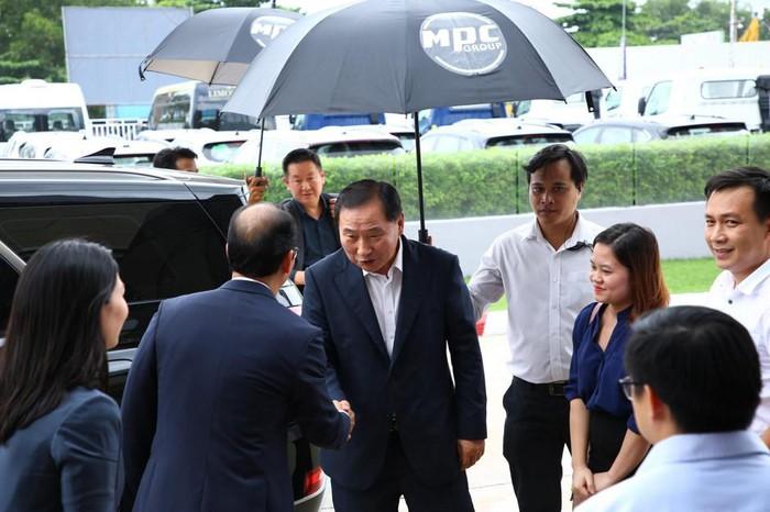 Lãnh đạo cấp cao tập đoàn Hyundai sang Việt Nam - Hình 1