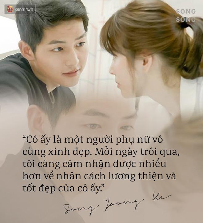 Loạt câu nói ngôn tình của Song Joong Ki và Song Hye Kyo: Bao lời hứa bên nhau trọn đời nay còn đâu? - Hình 9