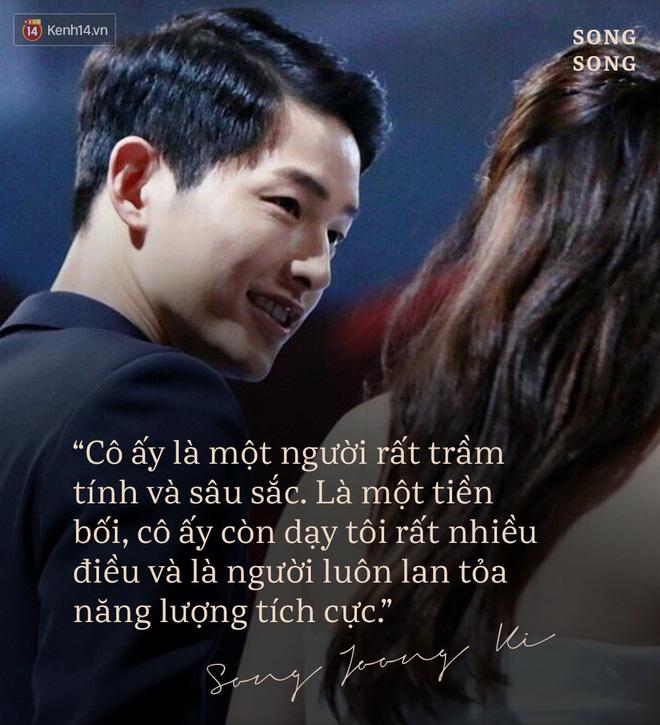Loạt câu nói ngôn tình của Song Joong Ki và Song Hye Kyo: Bao lời hứa bên nhau trọn đời nay còn đâu? - Hình 10