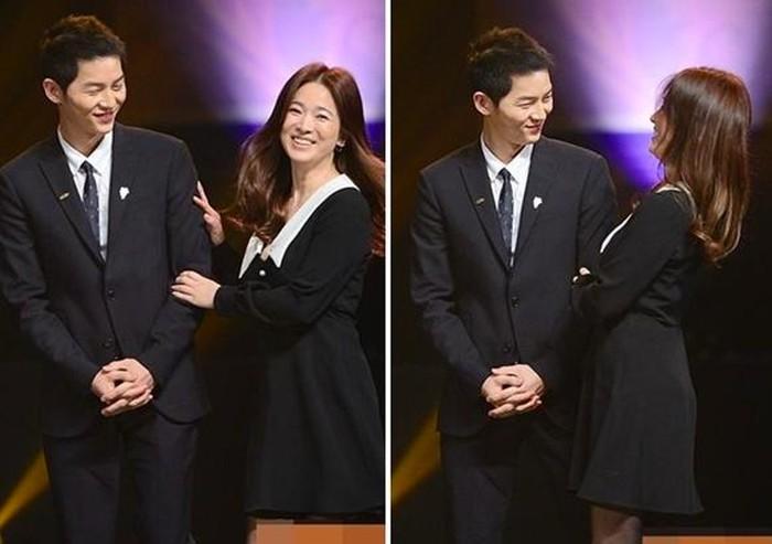 Nhói lòng khi xem lại những thước phim đẹp như mơ của Hậu duệ mặt trời - tác phẩm se duyên cho Song Joong Ki và Song Hye Kyo - Hình 12